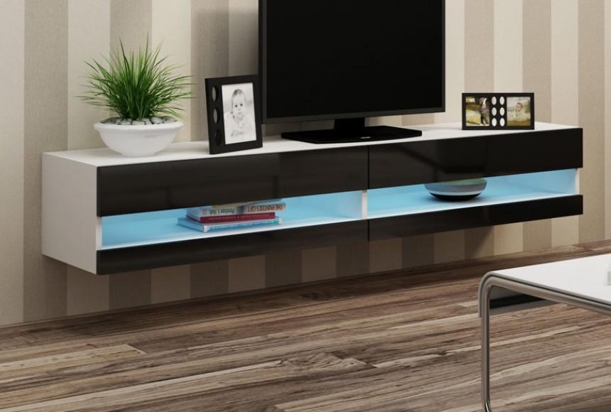 Belysning Matbord : Väggmonterad tv bänk slide