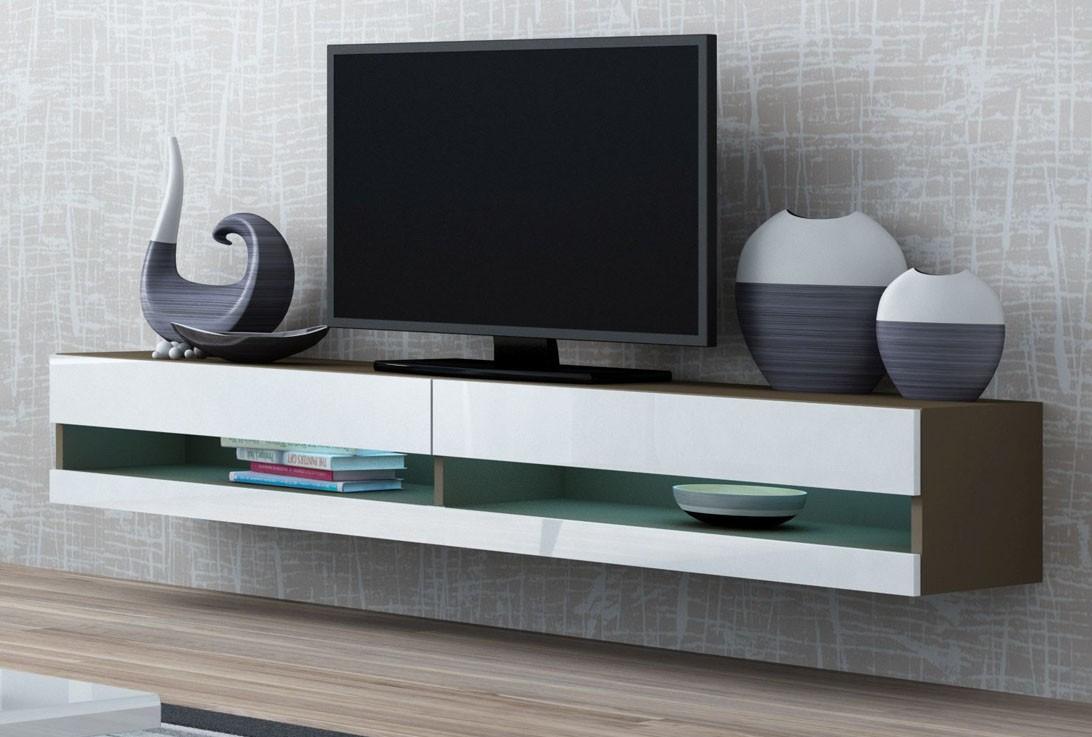 Väggmonterad Tv Bänk X Slide