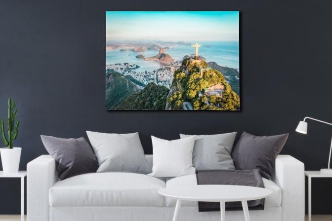 Bild Rio 60x80cm Glas