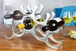 Alu Weinregal für 10 Flaschen