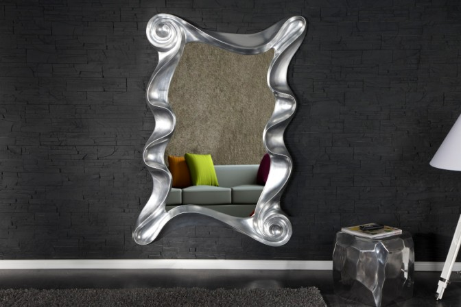 TWISTED - 160CM SPEGEL I SILVER