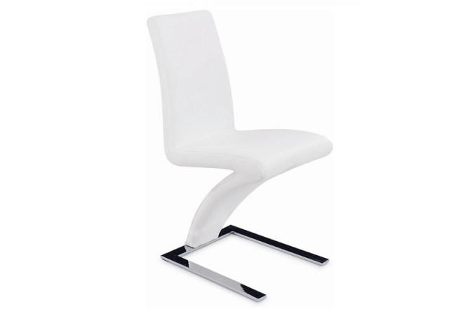 Z - modern designad stol, vit