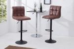 Bar stool Modena 95-115cm vintage brown