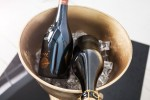 Champagne cooler Royal 40cm gold