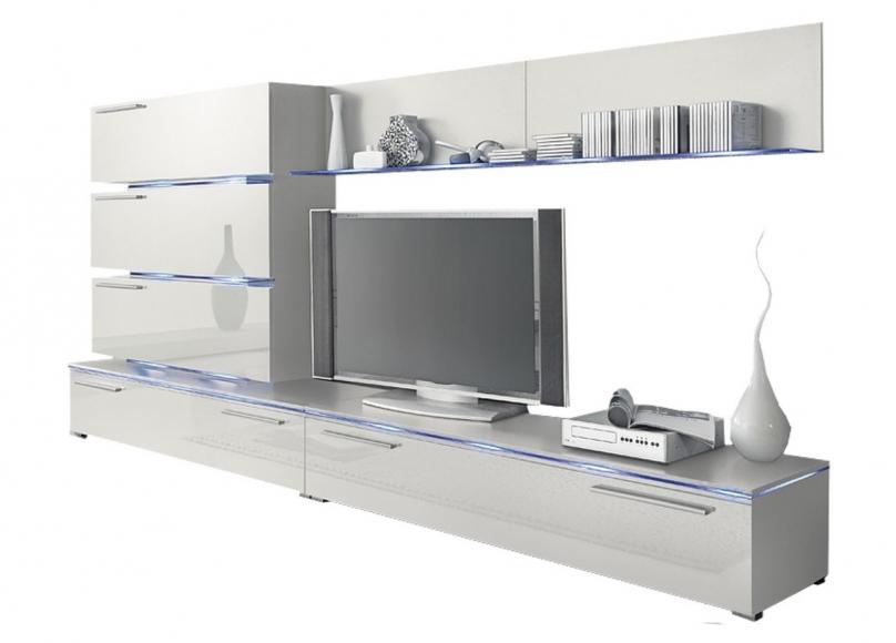 RADON - Tv-möbel, kombination, belysning