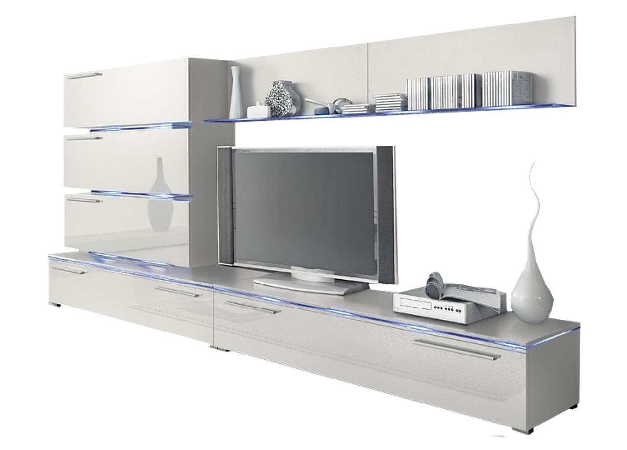 TV bänk mediamöbler RADON, Väggvitrinskåp