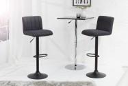 OREGON - vintagegrå barstol