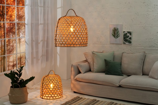 Suspension lamp Bamboo 60cm