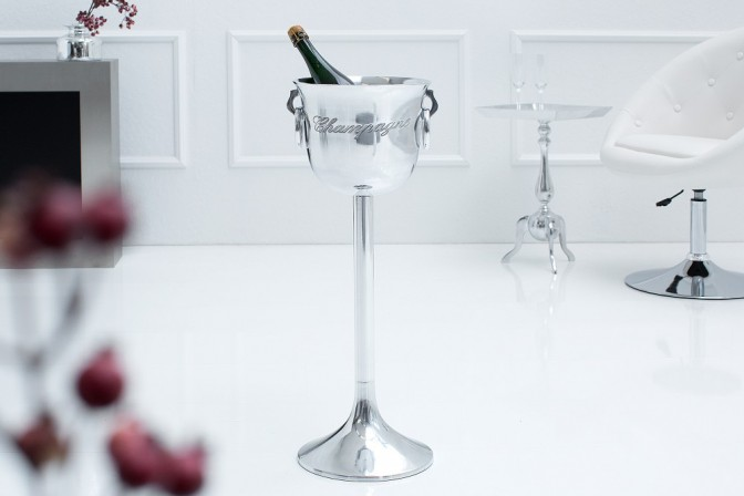 Champagne cooler Champagne 75cm silver