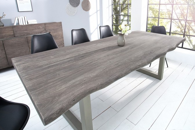 Dining table mammoth 200cm gray acacia
