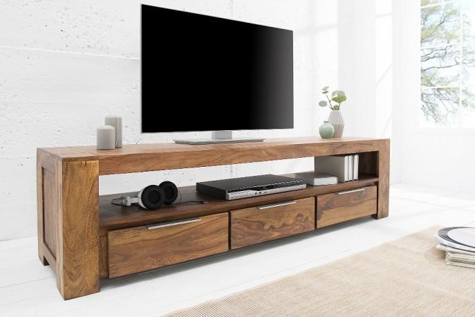 LONZA - 170CM TV-BÄNK SHEESHAMTRÄ