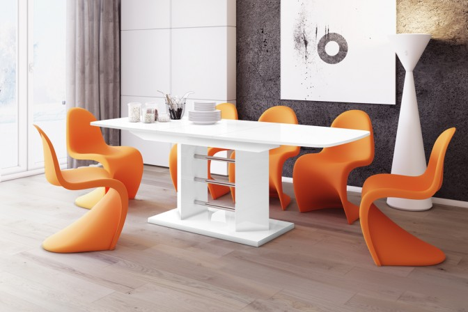 LINOSA table 3 140 black • white
