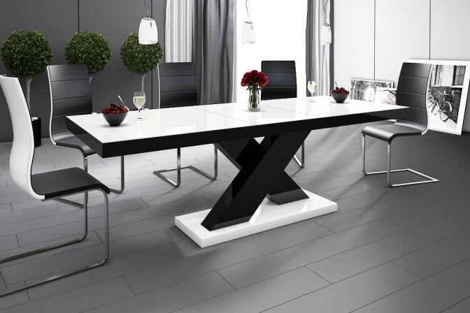 XENON table black • white