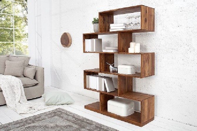 Shelf Makassar 150cm XL Sheesham