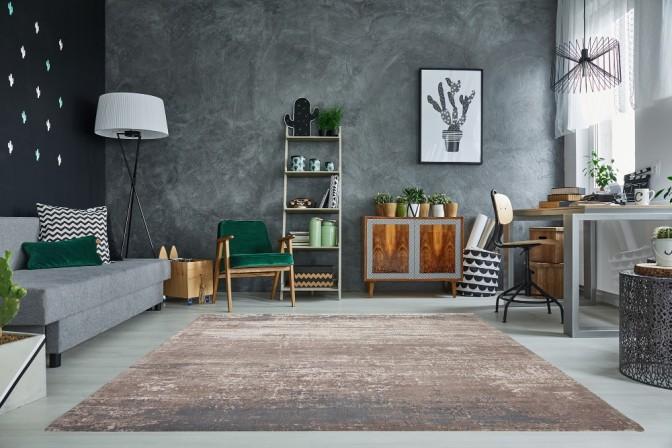 Carpet ModernArt 240x160cm gray beige