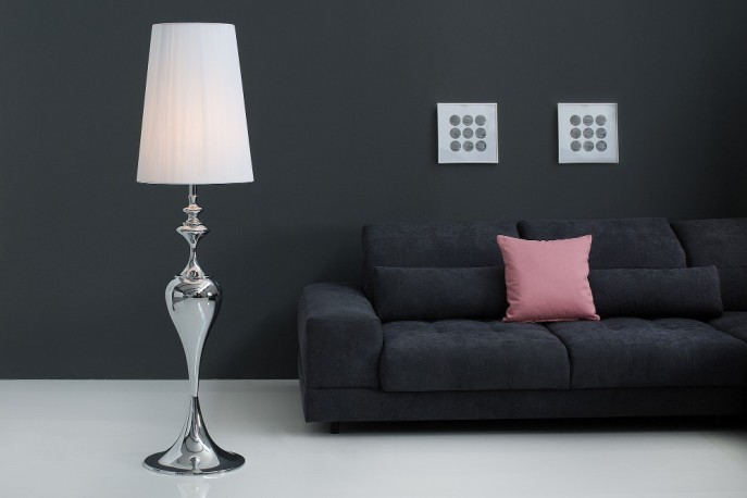 Floor lamp Lucie 160cm white