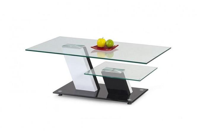 RACHELLE - soffbord med dubbla skivor