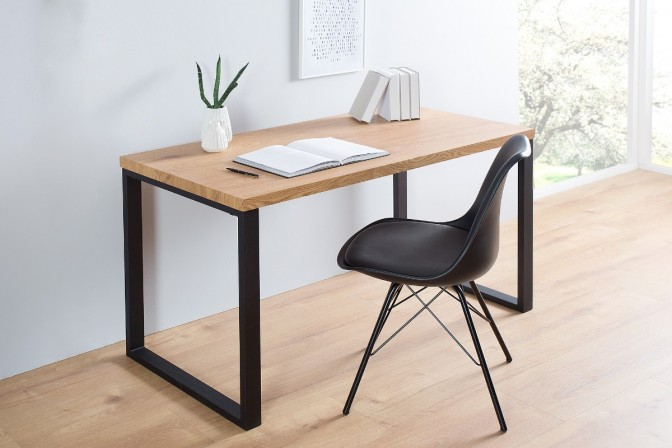 Desk Black Desk 128cm black oak