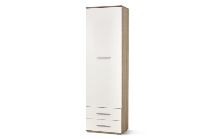 LIMA REG1 bookcase oak sonoma / white
