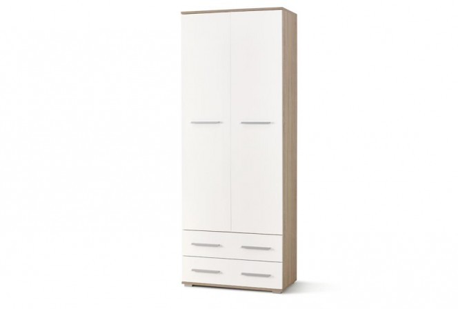 LIMA REG2 bookcase oak sonoma / white