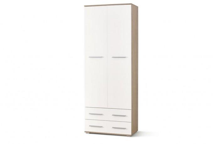 LIMA REG2 bookcase oak sonoma / white