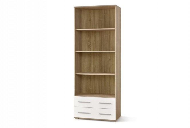 LIMA REG3 bookshelf oak sonoma / white