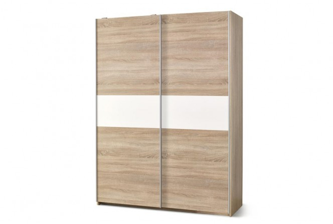 LIMA S1 wardrobe oak sonoma / white