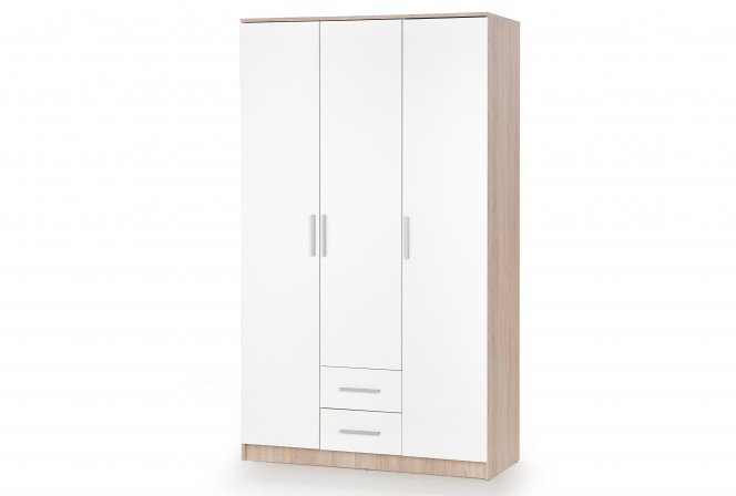 LIMA S-3 wardrobe oak sonoma / white