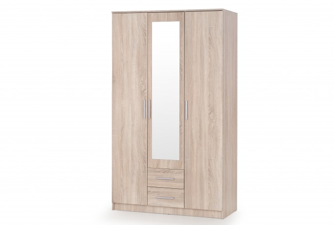 LIMA S-3 wardrobe oak sonoma / mirror