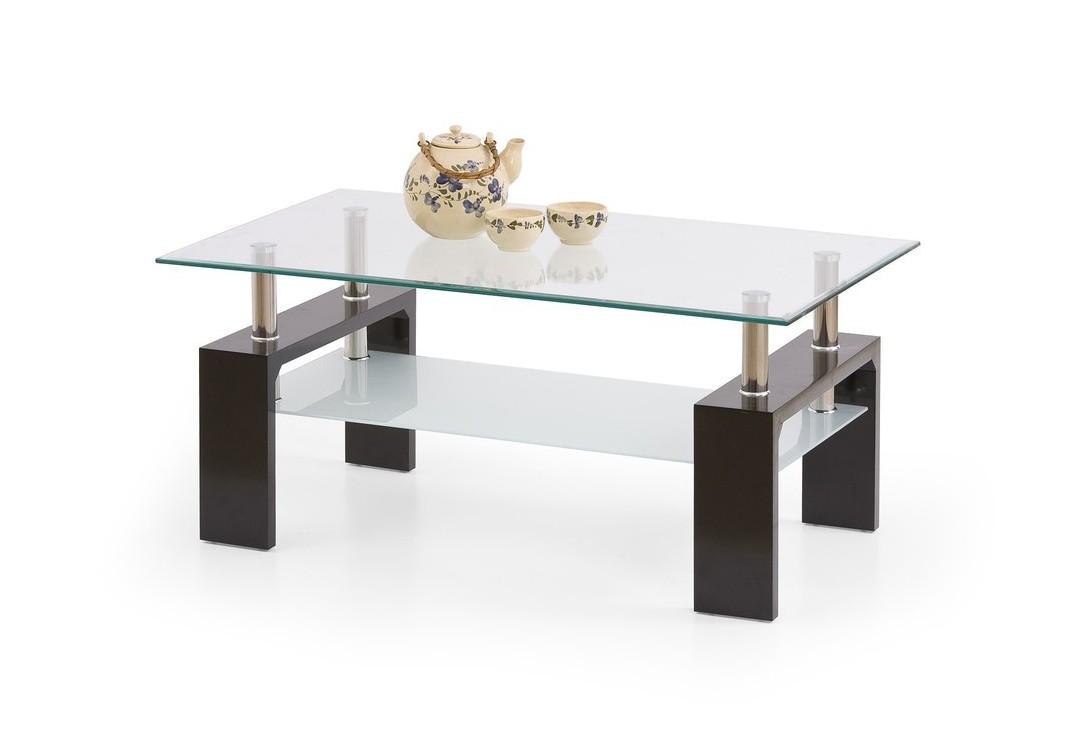 BENTE TRES soffbord i enkel design, mycket utrymme och