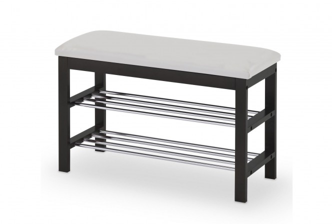 ST3 shoe rack black / white