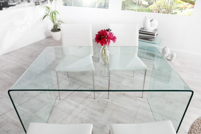 Tisch Ghost - Glas 120cm