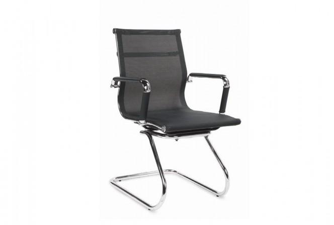 OPERA SKID armchair black