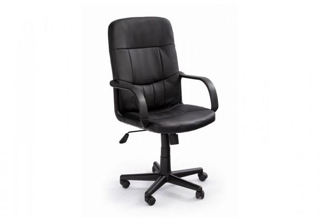 DENZEL black armchair