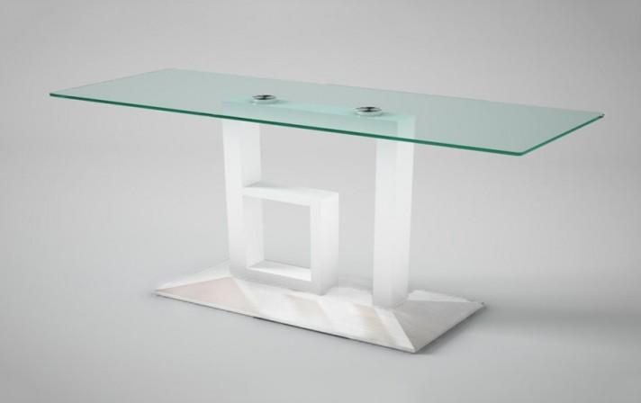 LOBSTER - 180cm Bord, glasskiva