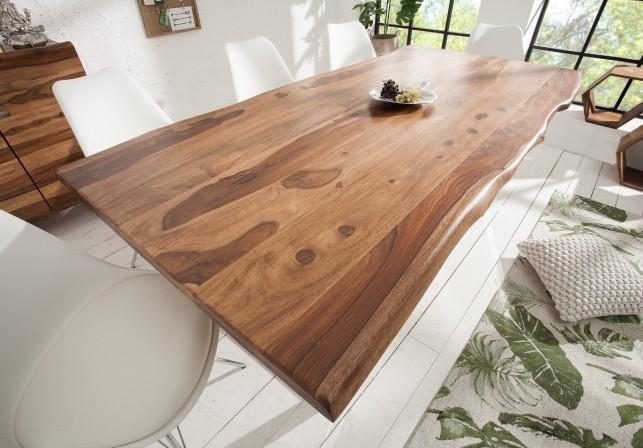 Dining table Mammut 200cm Sheesham 40mm