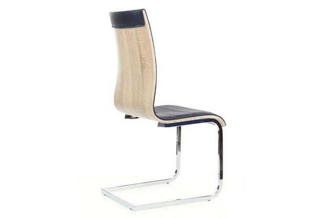 VETO - modern stol i EK/svart