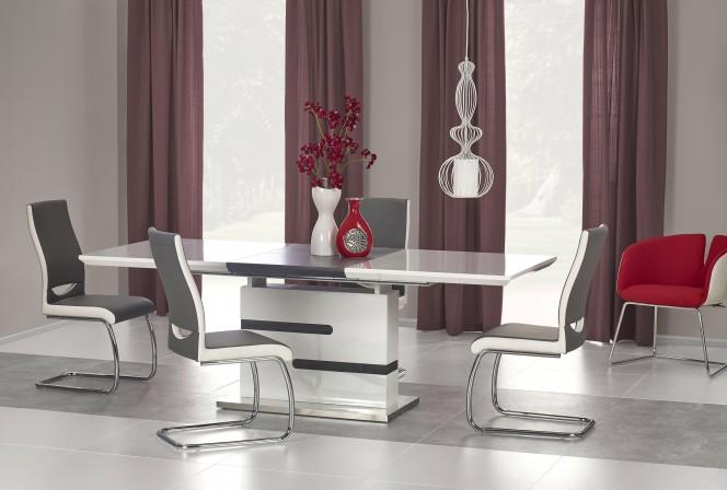 MONACO table white / gray