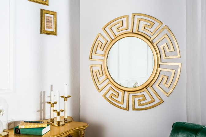 Wall mirror Euphoria 85cm gold