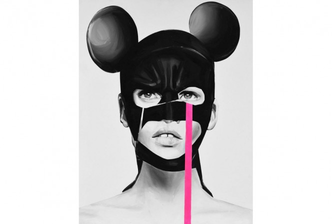 BATMANOMICS FEELINGS 70x100 / 90X120CM - Edyta Grzyb
