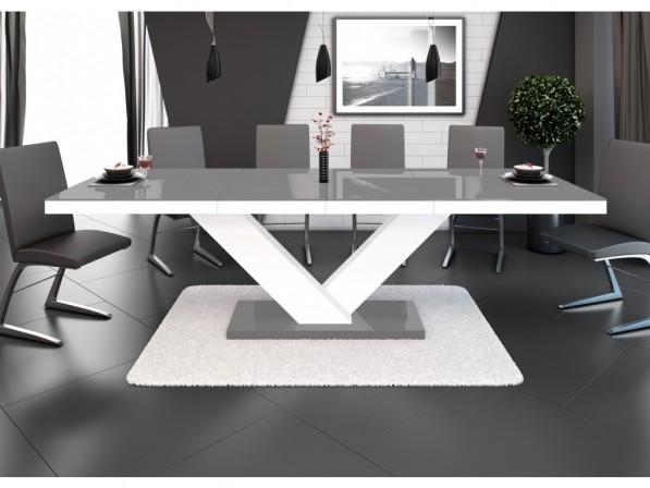 Vicco XL - Högglans bord, förlängning