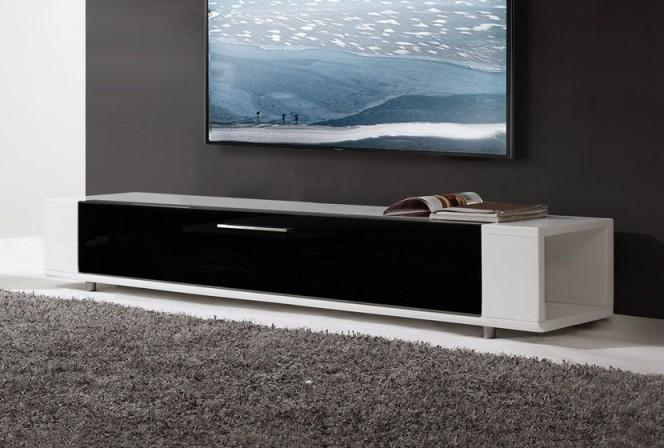 CONCORD-T - 200cm TV-bänk högglans, IR-sändare