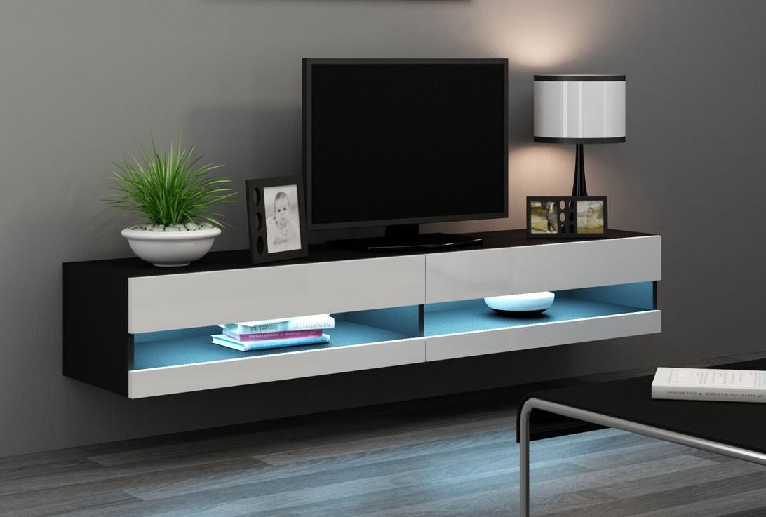 Attraktiva Väggmonterad TV-bänk - X Slide WR-05