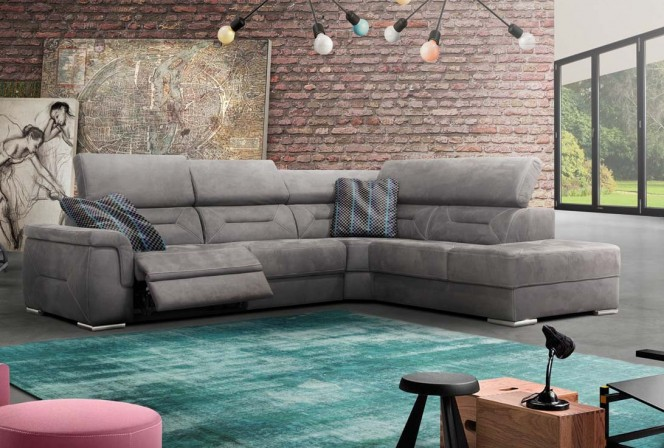 Domino - lyxig soffa med hög komfort