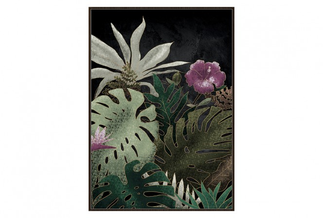 BOTANICAL PICTURES FLOWERS 102x142