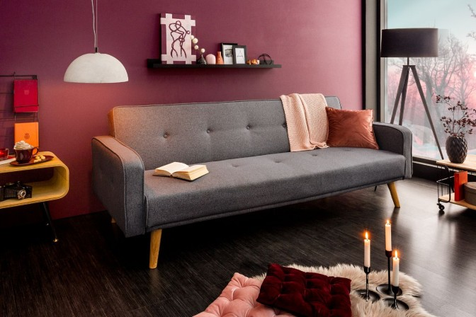 Sofa bed Scandinavia II anthracite