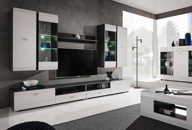 CHIAVE - mediamöbel/mediamöbler med LED belysning