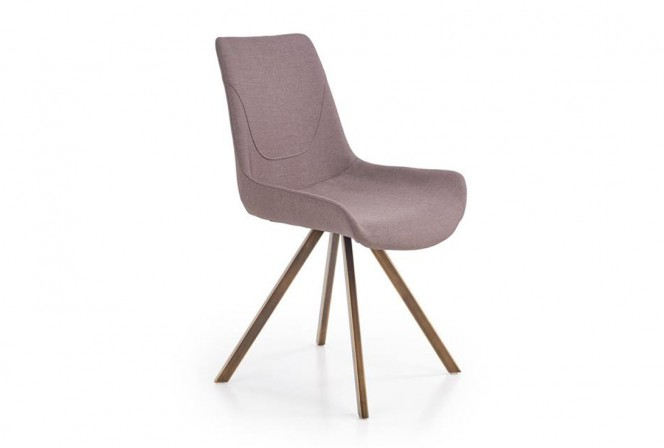 MODE - stol i grått+guld