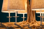 Chandelier Euphoria II 80cm driftwood