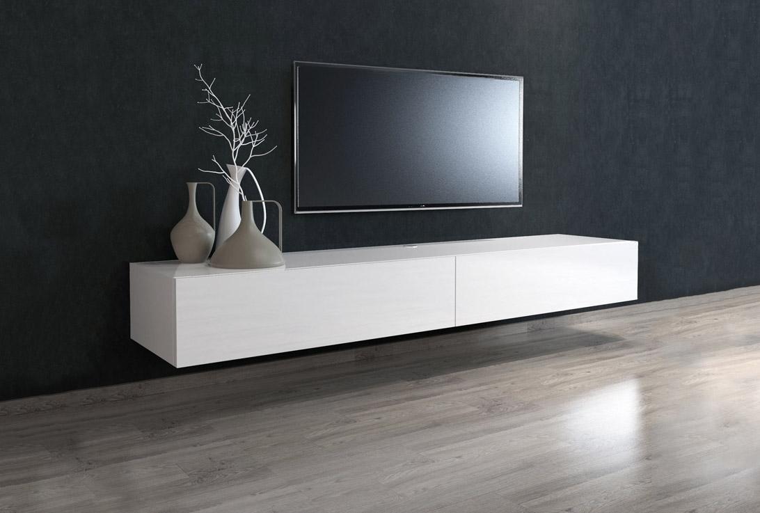 tv bänk vägghängd